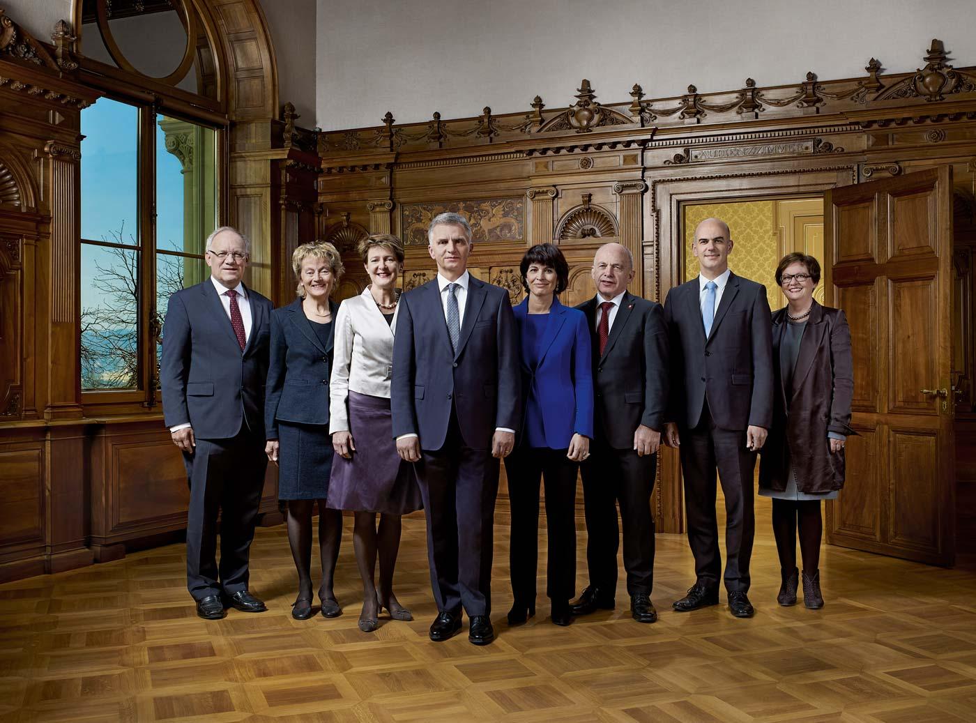 Offizielles Bundesratsfoto 2014