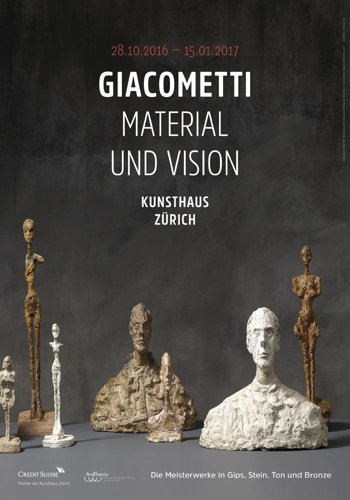 Katalog zur Giacometti Ausstellung. Kunsthaus Zürich