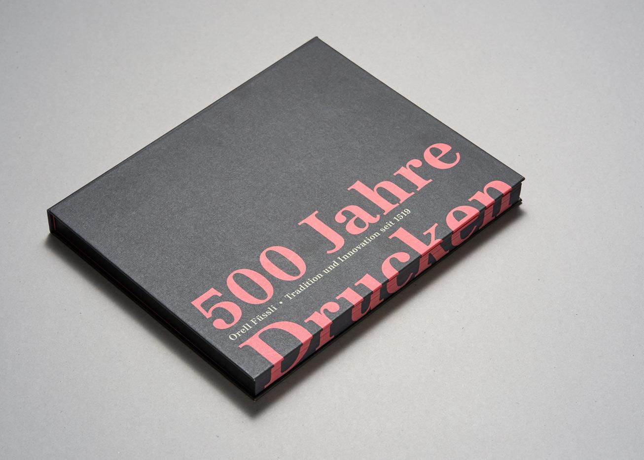 500 Jahre Drucken Jubiläumsbuch von Orell Füssli