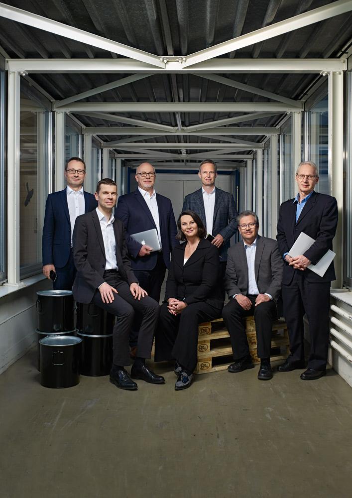Gruppenfoto Orell Füssli Holding Gruppenbild © Dominic Büttner