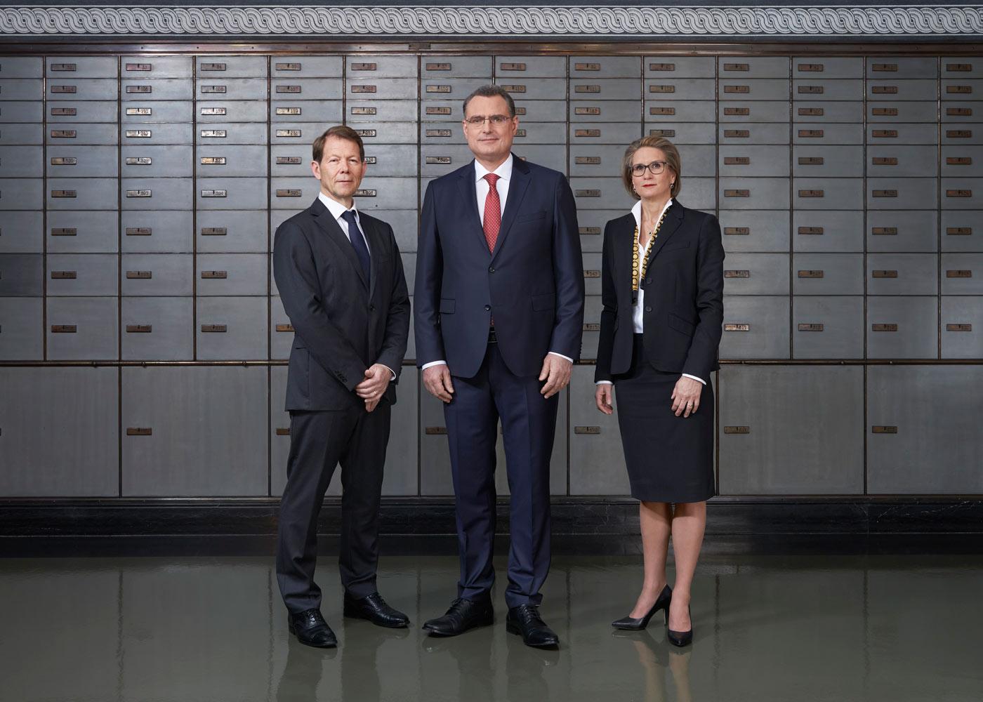 Gruppenfoto Direktorium der Schweizerischen Nationalbank SNB