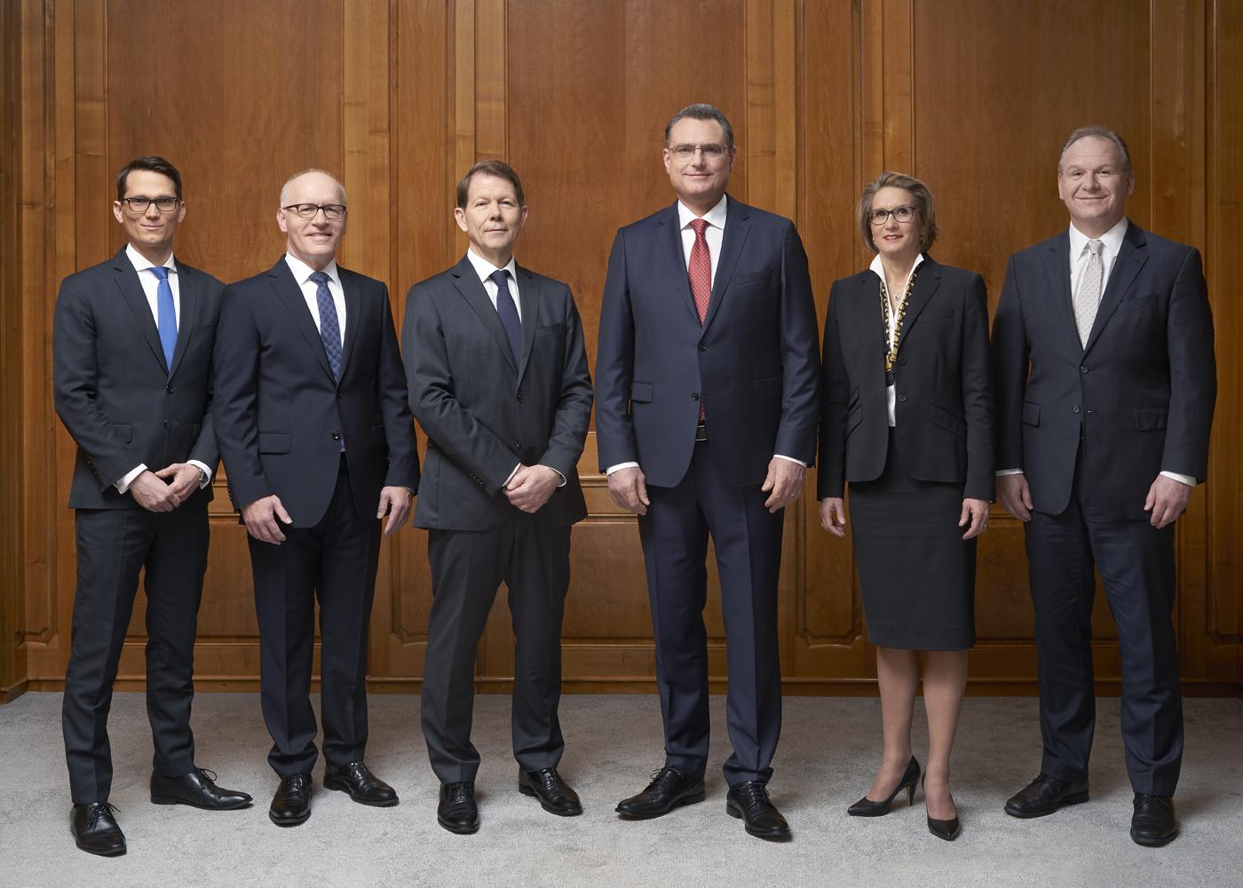Gruppenfoto Erweitertes Direktorium. Schweizerische Nationalbank SNB